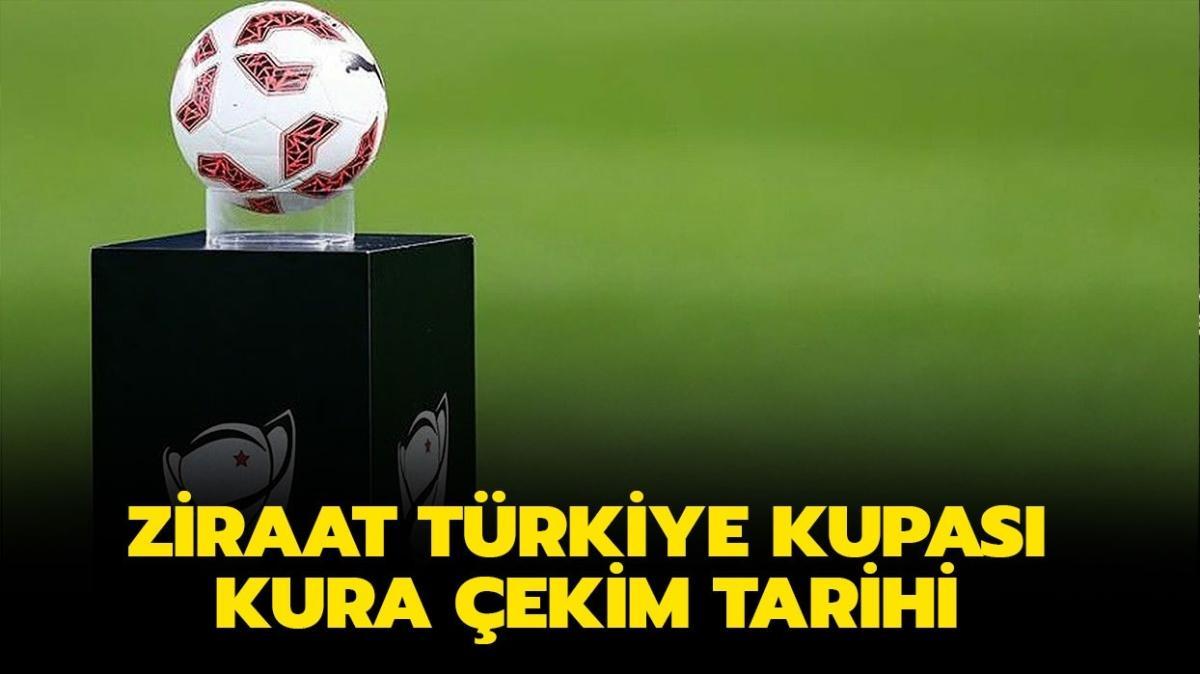 """Ziraat Türkiye Kupası kura çekimi ne zaman, hangi gün"""" 2021 TFF Ziraat Türkiye Kupası kura çekimi saat kaçta olacak"""""""