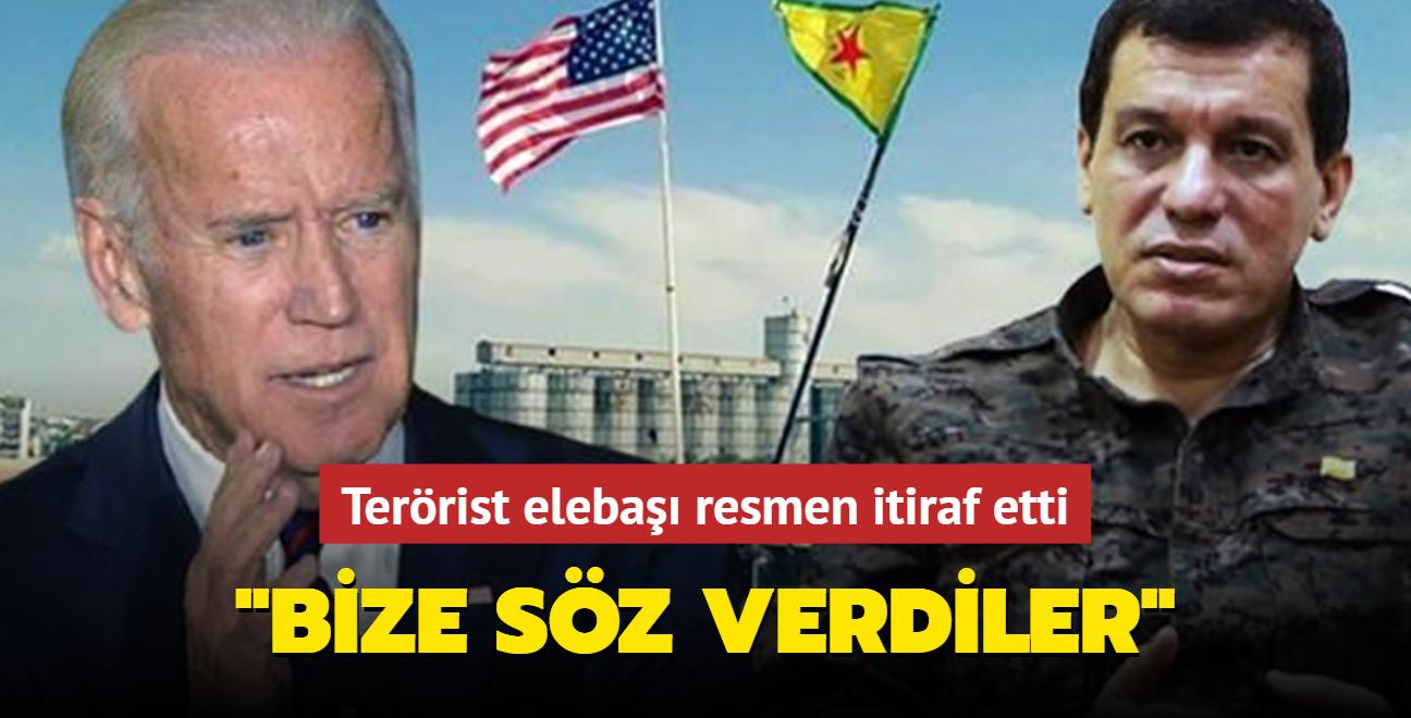 Terörist elebaşı resmen itiraf etti: Biden bize söz verdi