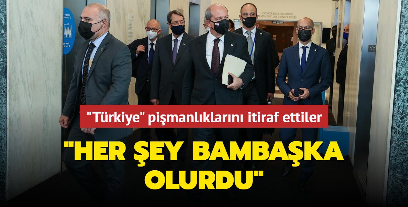 """""""Türkiye"""" pişmanlıklarını itiraf ettiler: Her şey bambaşka olurdu"""