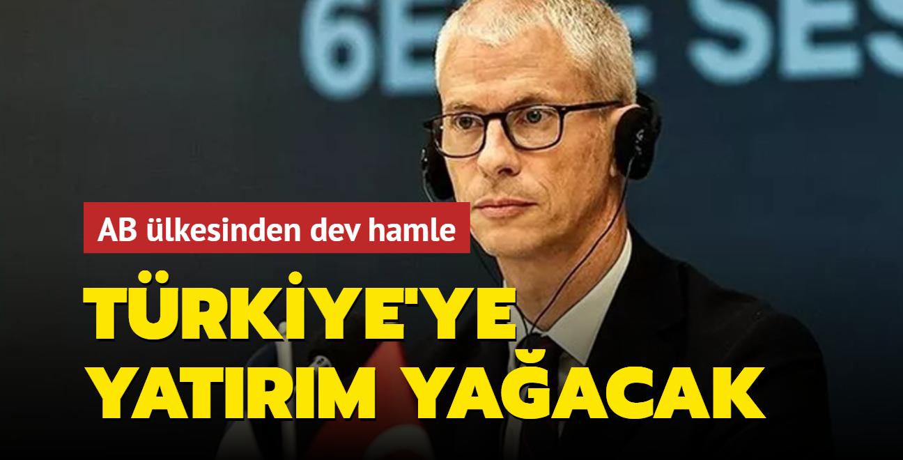 Türkiye'deki Fransız şirketlerden dev hamle! Fransız Bakan Riester açıkladı