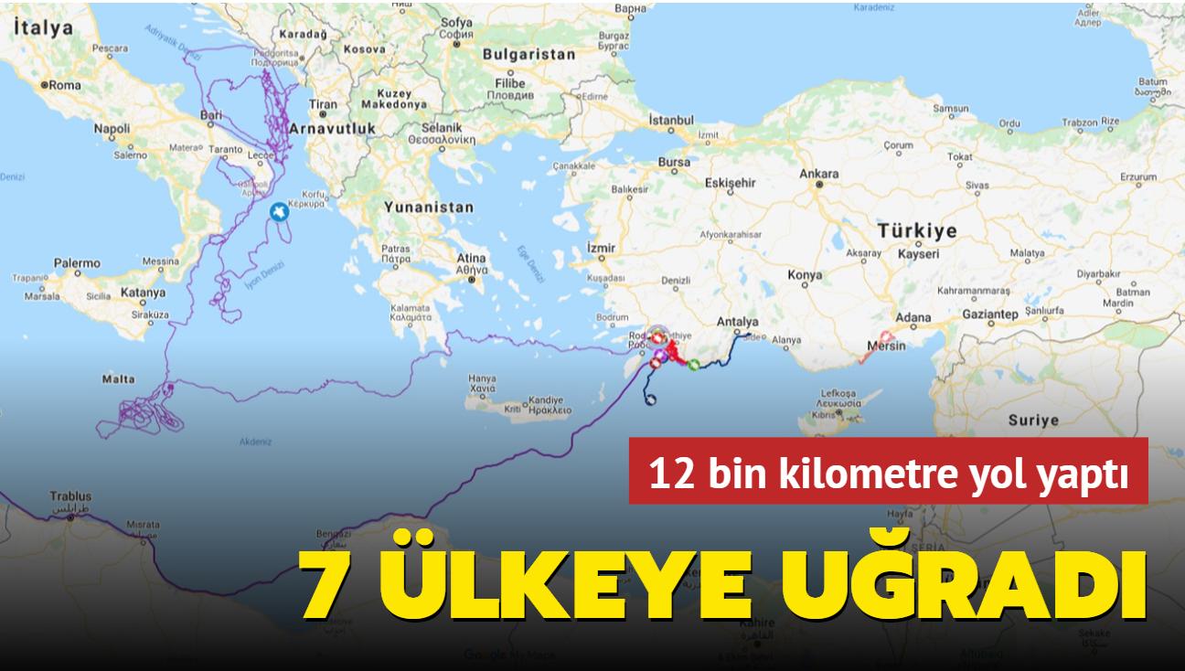 12 bin kilometre yol yaptı... Carette Tuba 7 ülke gördü