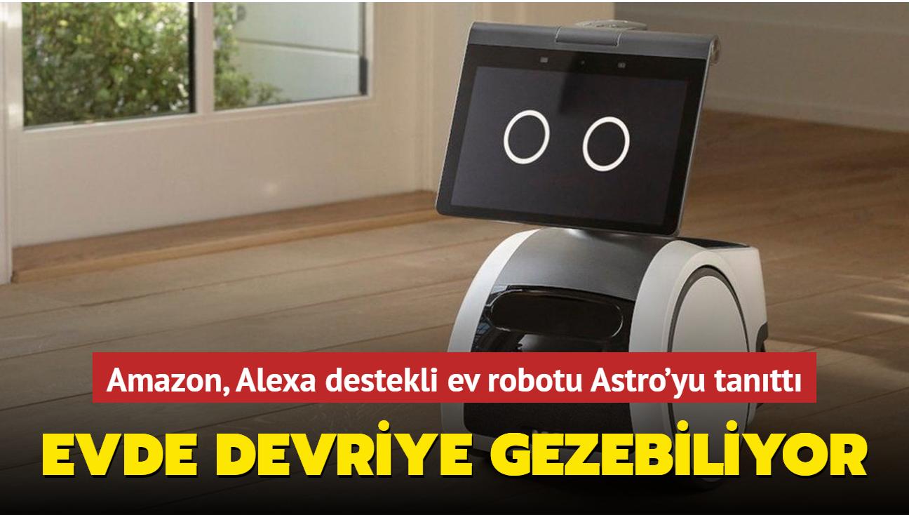 Amazon, Alexa destekli ev robotu Astro'yu tanıttı