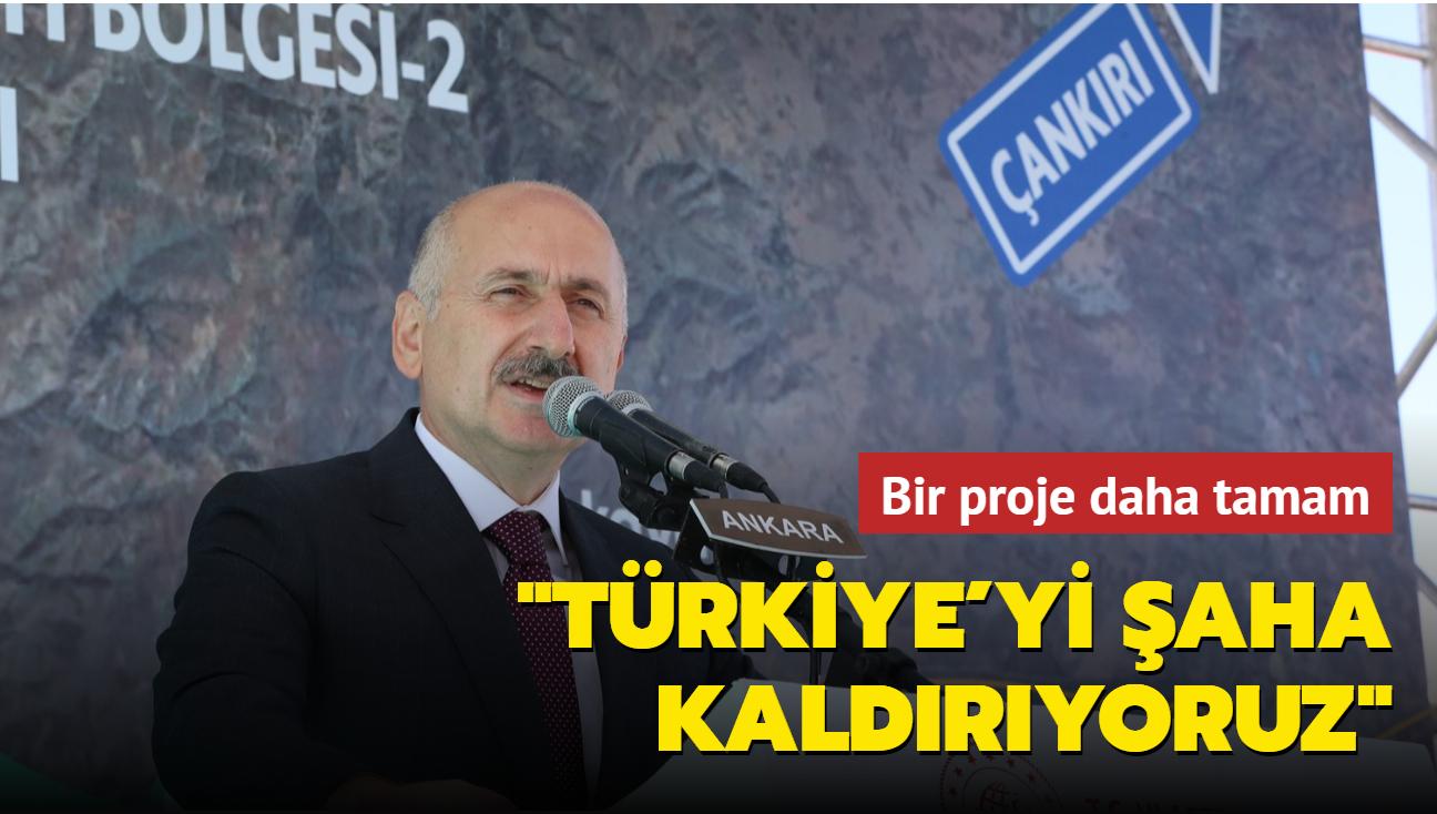 Bakan Karaismailoğlu: Lafla peynir gemisi yürütmeye çalışanlara inat, Türkiye'yi şaha kaldırıyoruz