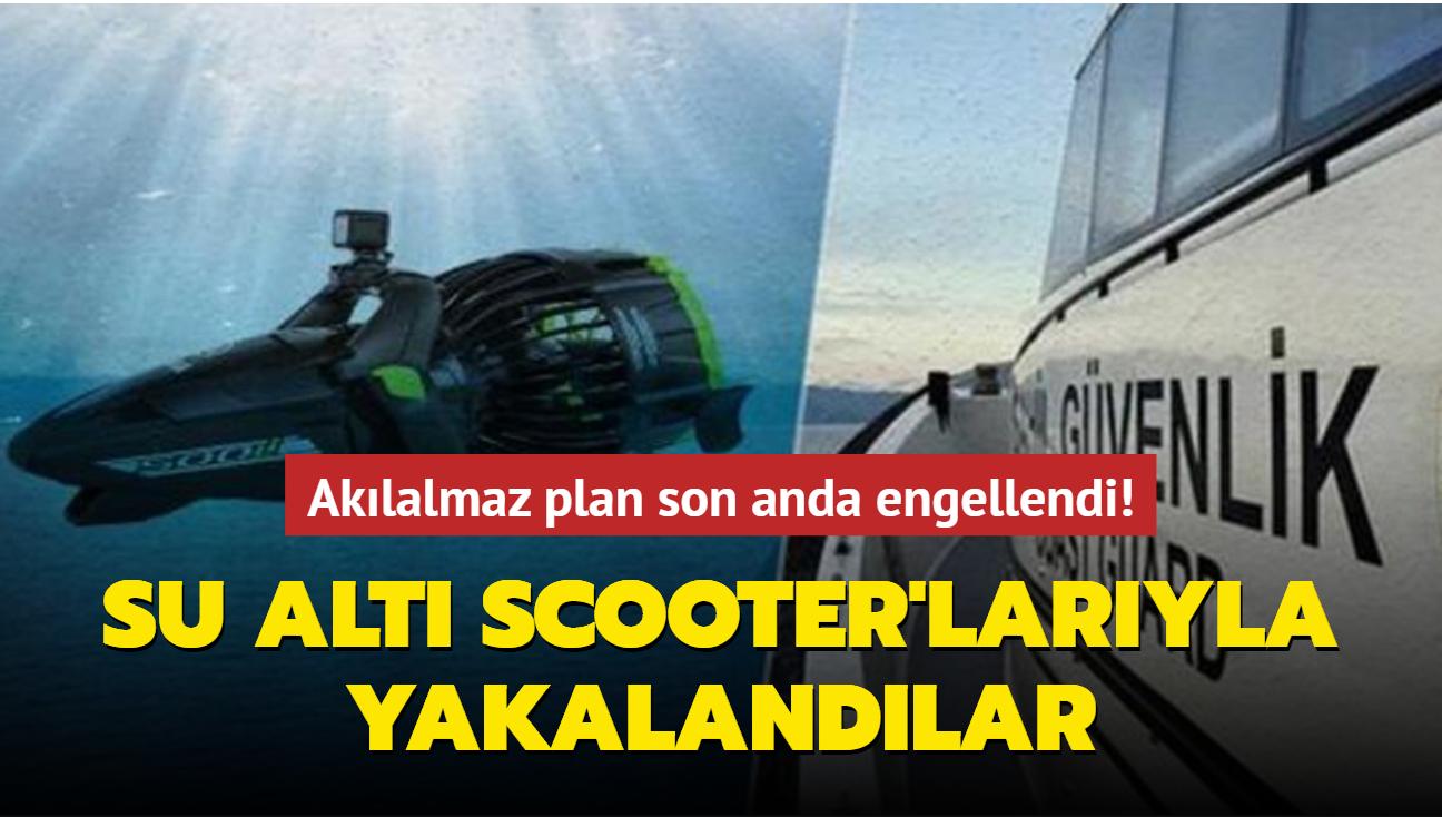 FETÖ'cü 3 üsteğmen su altı aracıyla Yunanistan'a kaçmaya çalıştı!