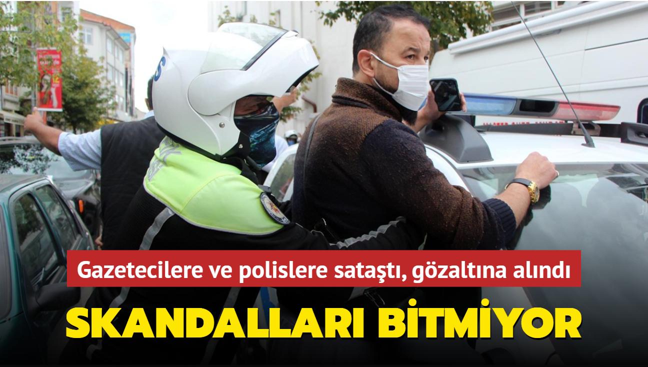 MasterChef Murat Özdemir gazeteci ve polislerle tartıştı! Gözaltına alındı