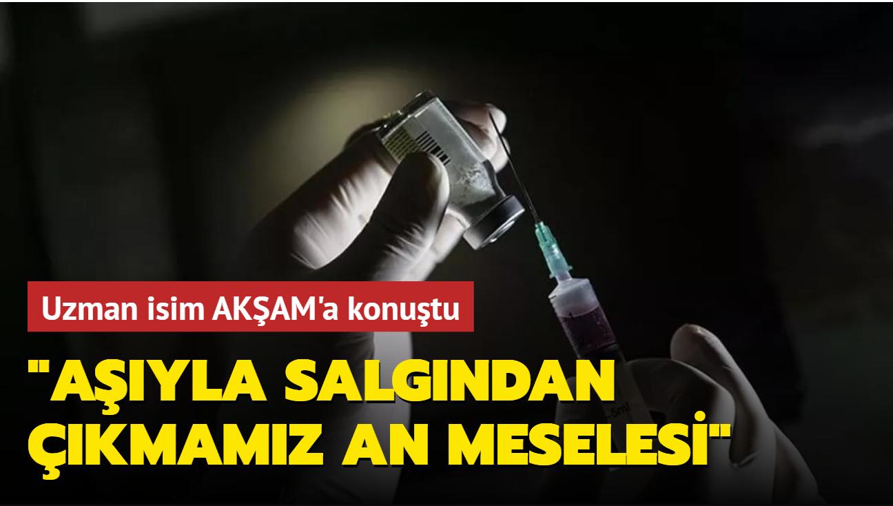 Prof. Dr. Tufan Tükek: Aşıyla salgından çıkmamız an meselesi