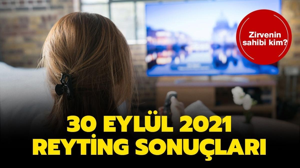 30 Eylül 2021 reyting sonuçları açıklandı! Camdaki Kız, Bir Zamanlar Çukurova, Barbaroslar Akdeniz'in Kılıcı reyting sıralaması!