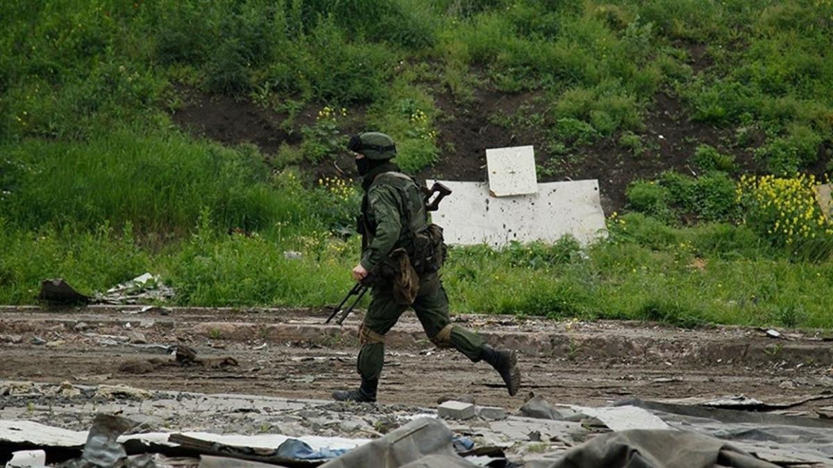 Donbas'ta bir Ukraynalı asker öldü