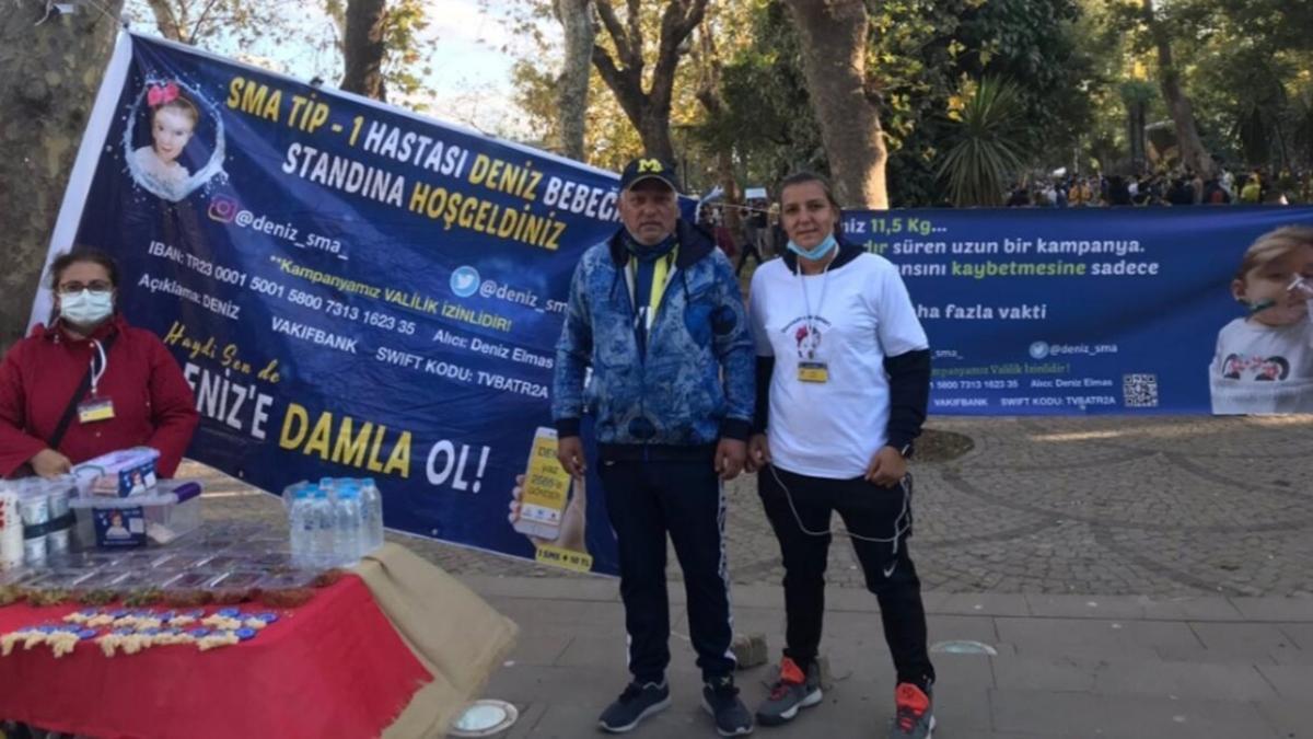 Fenerbahçeli taraftarlardan anlamlı destek