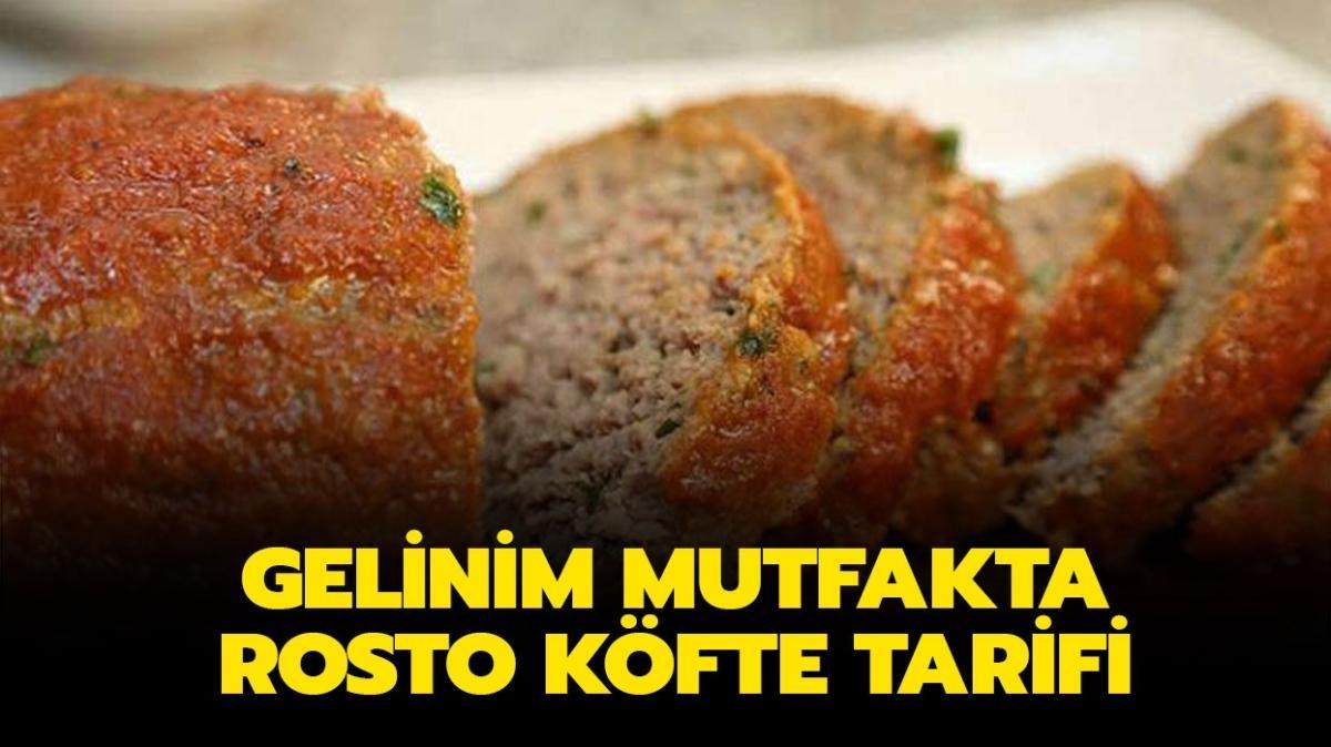"""Rosto köfte nasıl yapılır, malzemeleri neler"""" Gelinim Mutfakta rosto köfte tarifi!"""