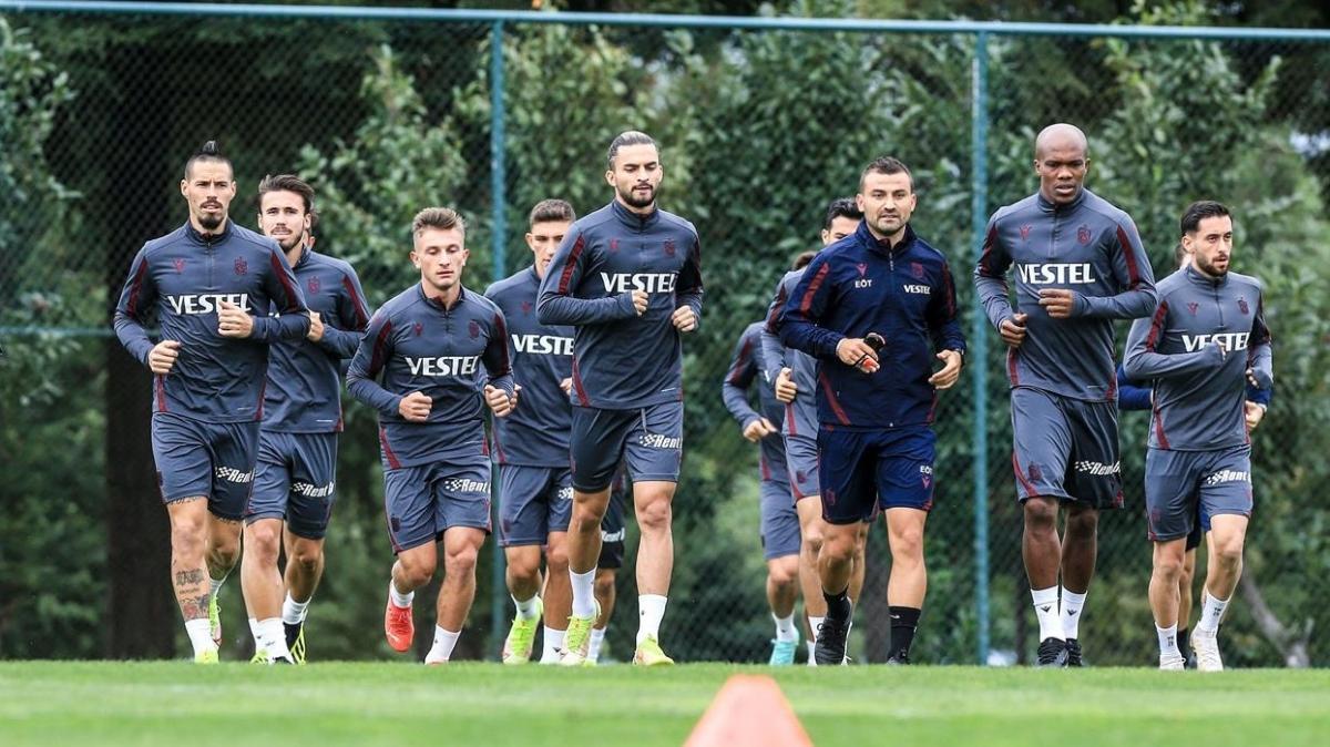 Trabzonspor'da hazırlıklar 4 eksikle sürüyor