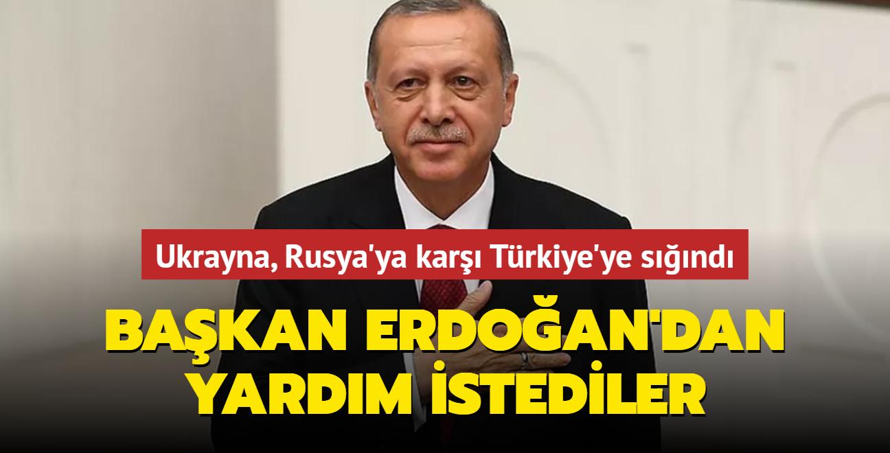 Ukrayna, Rusya'ya karşı Türkiye'ye sığındı: Başkan Erdoğan'dan yardım istediler...