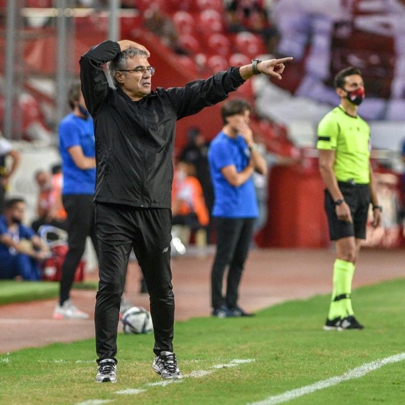 Ersun Yanal: Tartışmalı bir gol sonrası koptuk