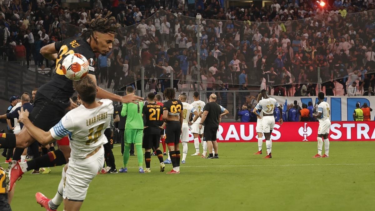 Altın 1 puan! Maç sonucu: Olimpik Marsilya-Galatasaray: 0-0