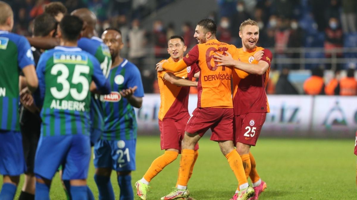 Eski hakemler AKŞAM'a konuştu: Çaykur Rizespor-Galatasaray maçında üç kararın tartışması yok