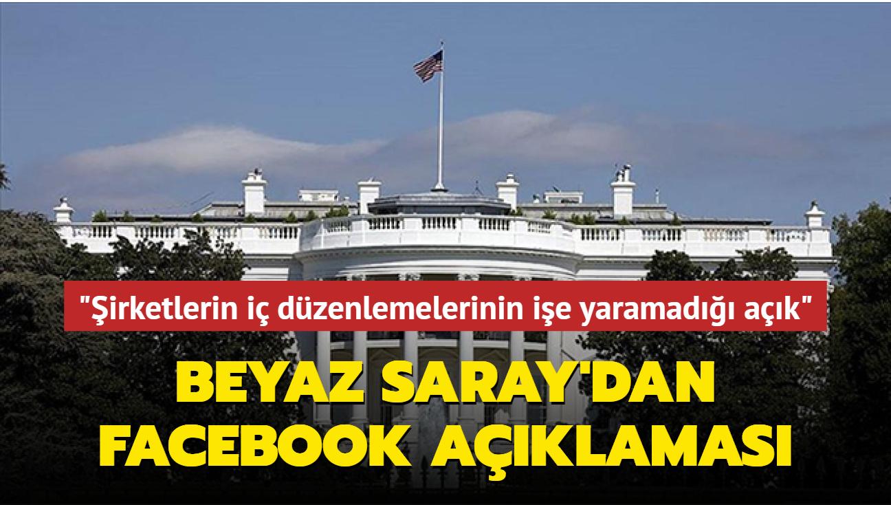 Beyaz Saray, sosyal medya platformlarındaki kesintilere ilişkin açıklama yaptı