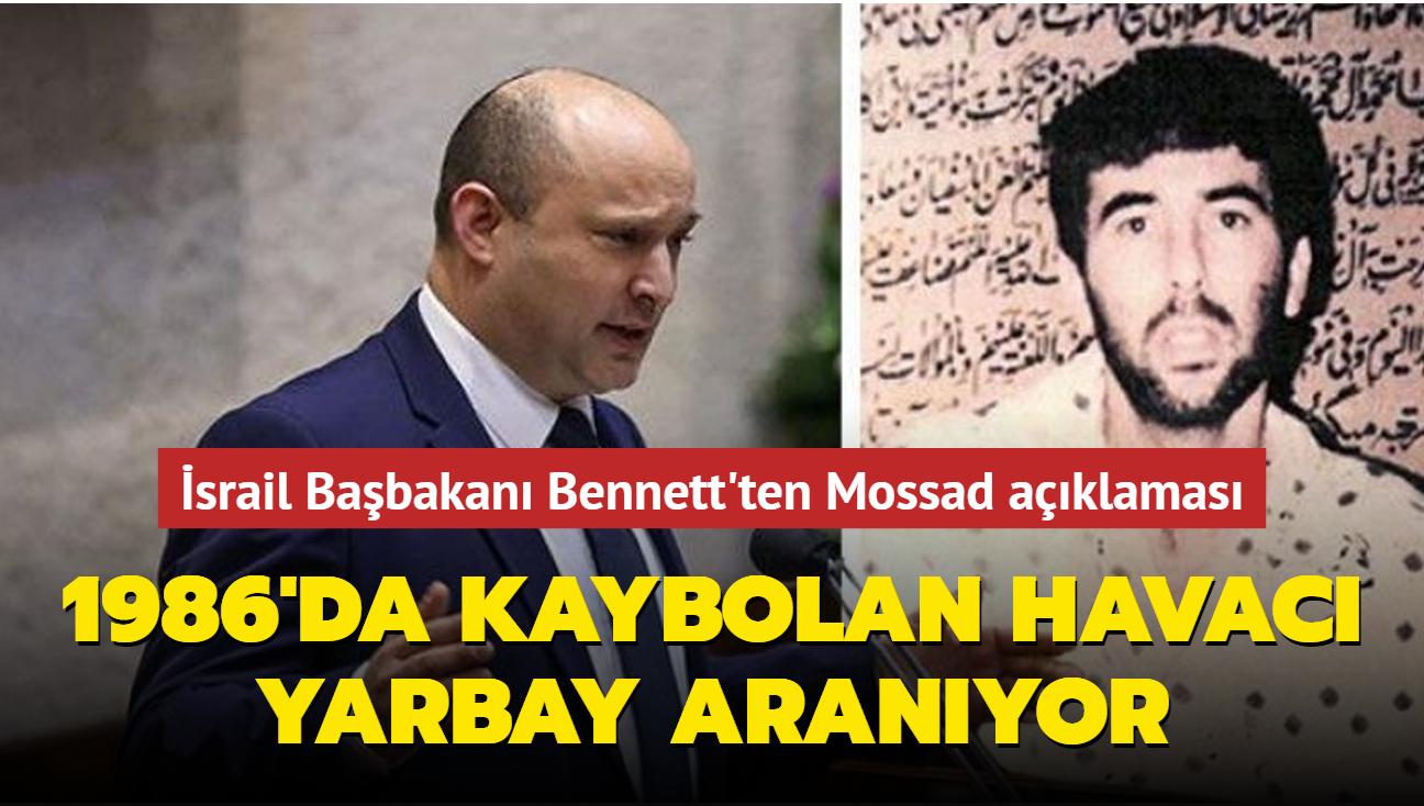 İsrail Başbakanı duyurdu... Mossad 1986'da kaybolan havacı yarbayı arıyor