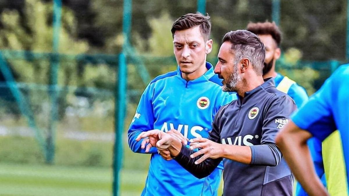 Fenerbahçe Mesut Özil-Vitor Pereira konusuna son noktayı koydu