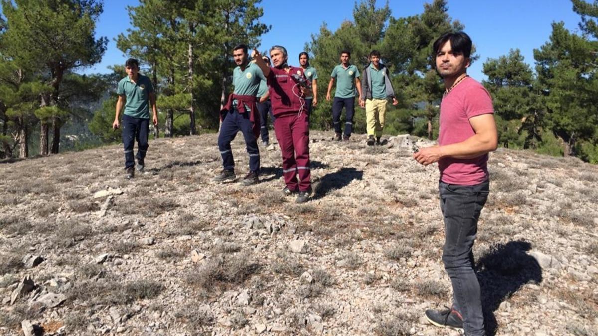 Kaybolan alzaymır hastası drone yardımı ile bulundu