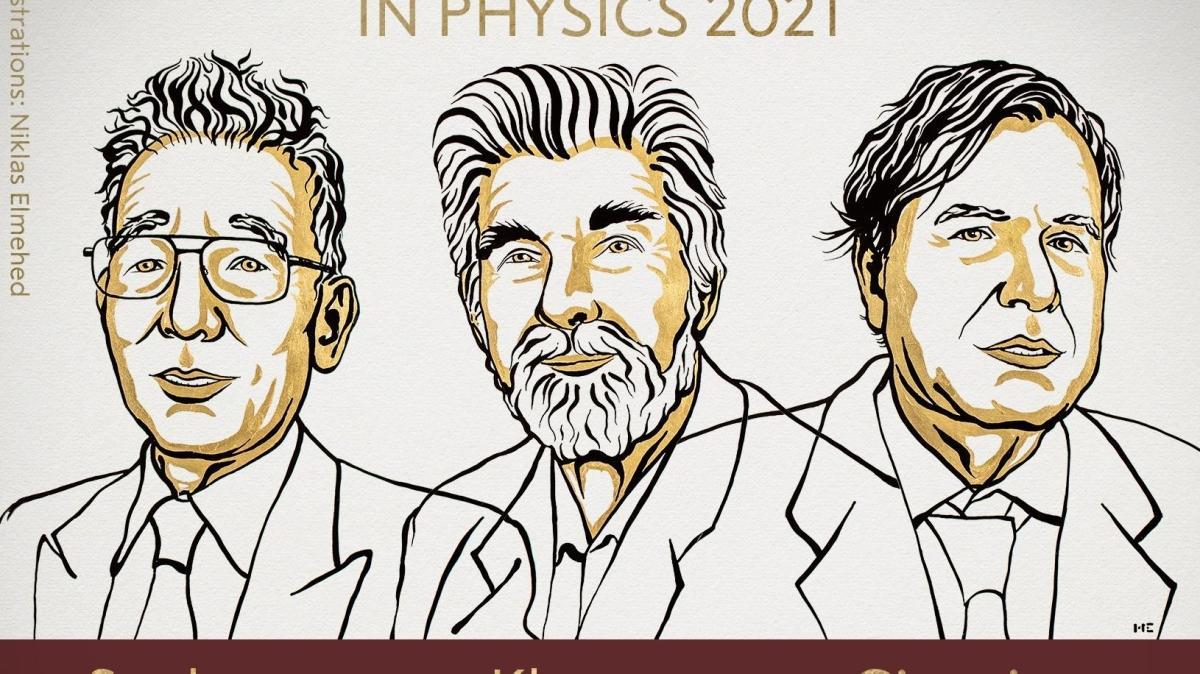 Son dakika haberi: 2021 Nobel Fizik Ödülü sahiplerini buldu
