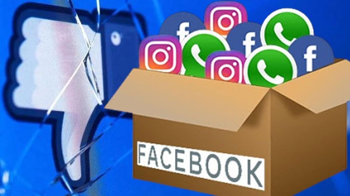 Sosyal medya devi saatlerce hizmet sağlayamadı… İşte Facebook, Instagram, WhatsApp arızası hakkında 6 bilgi