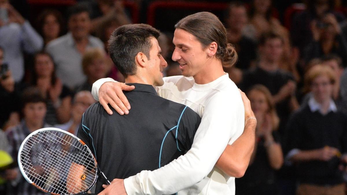 Zlatan Ibrahimovic, Novak Djokovic'e methiye düzdü: O da benim gibi