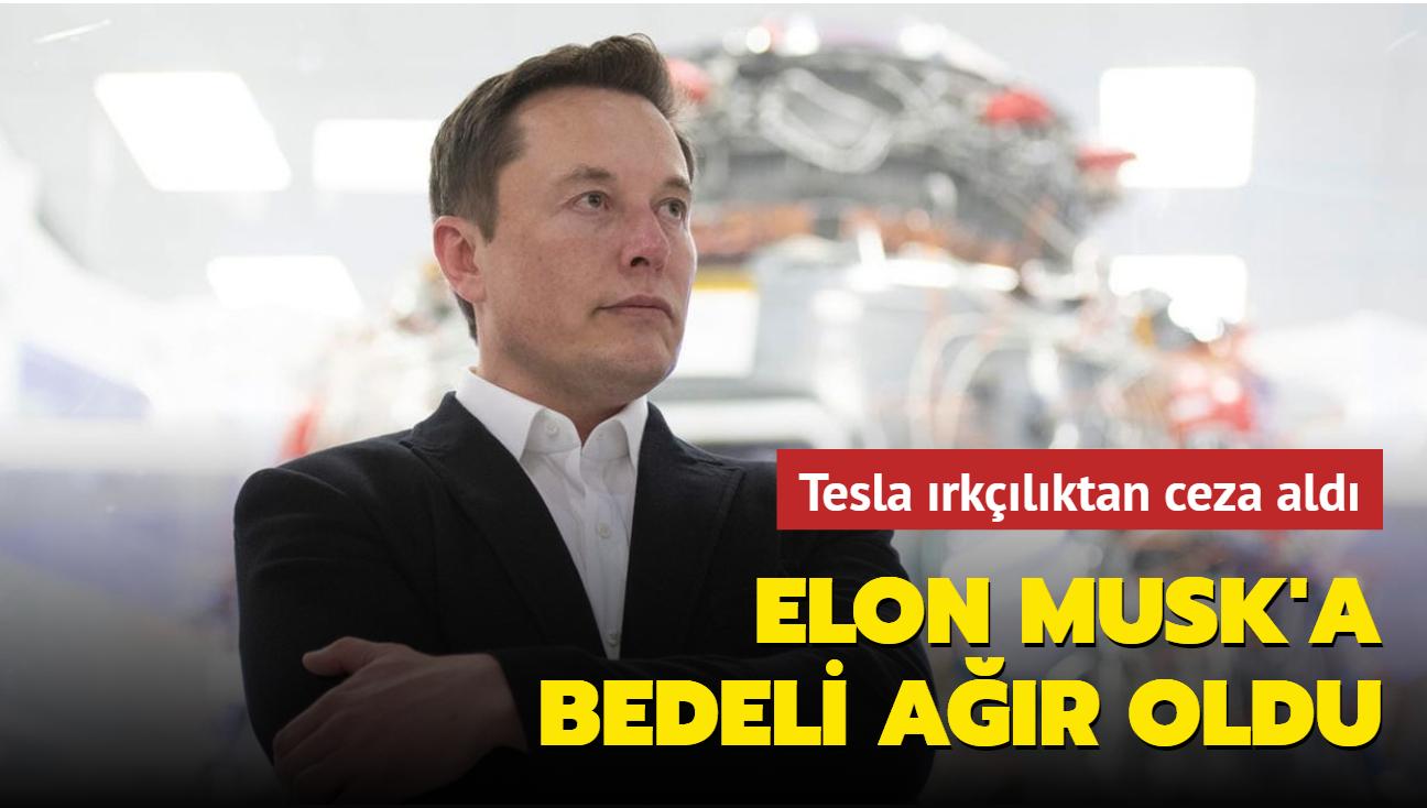 Tesla ırkçılıktan ceza aldı, eski çalışanına 137 milyon dolar ödeyecek