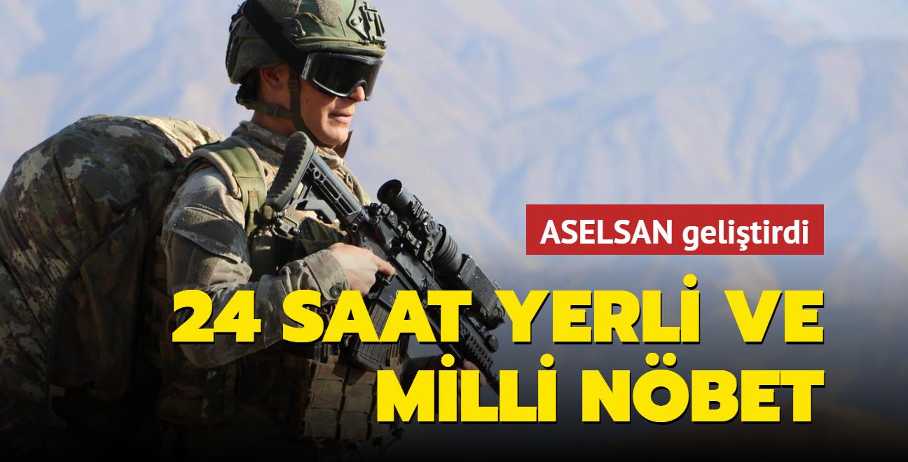 Mehmetçik, yerli ve milli silahlarla 24 saat nöbette