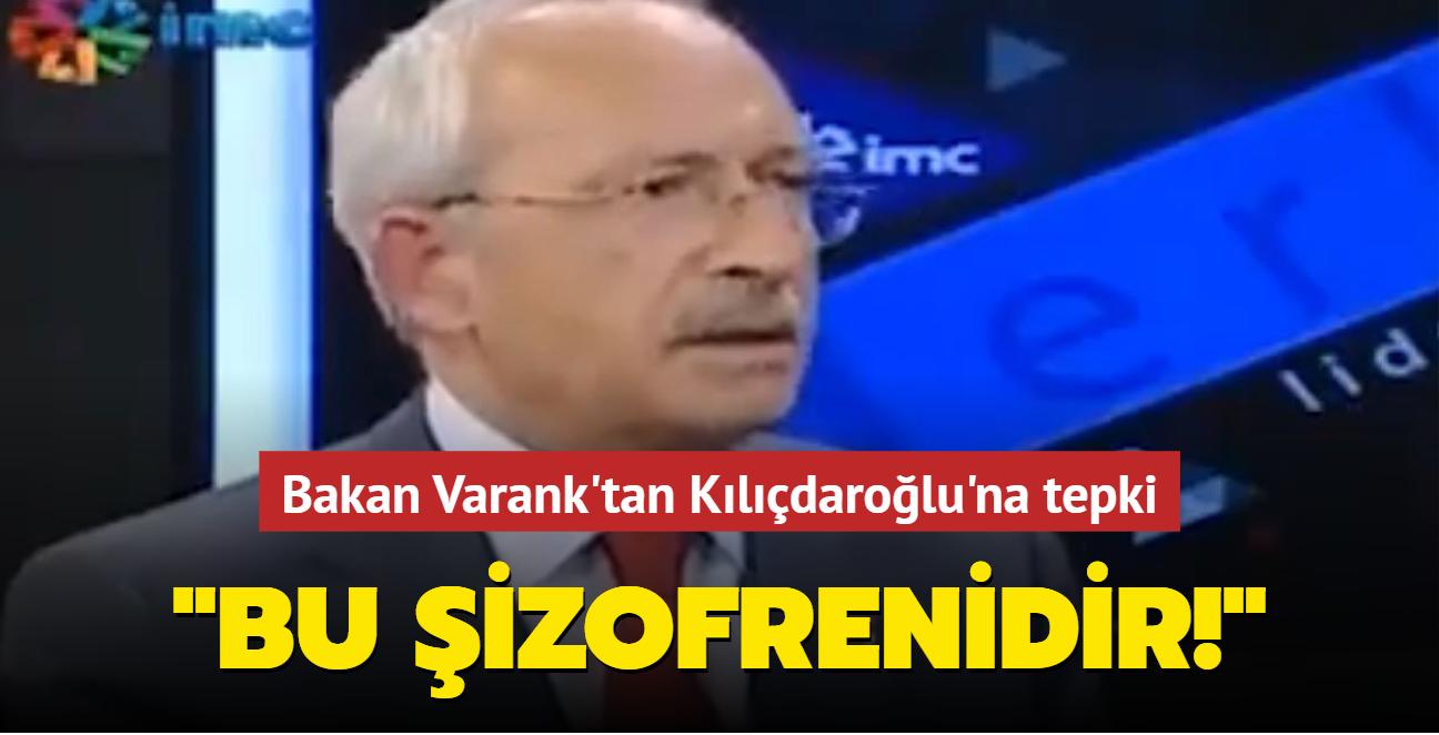 Bakan Varank'tan Kılıçdaroğlu'na tepki: Buna yalancılık demek yetmez, bunun adı şizofrenidir