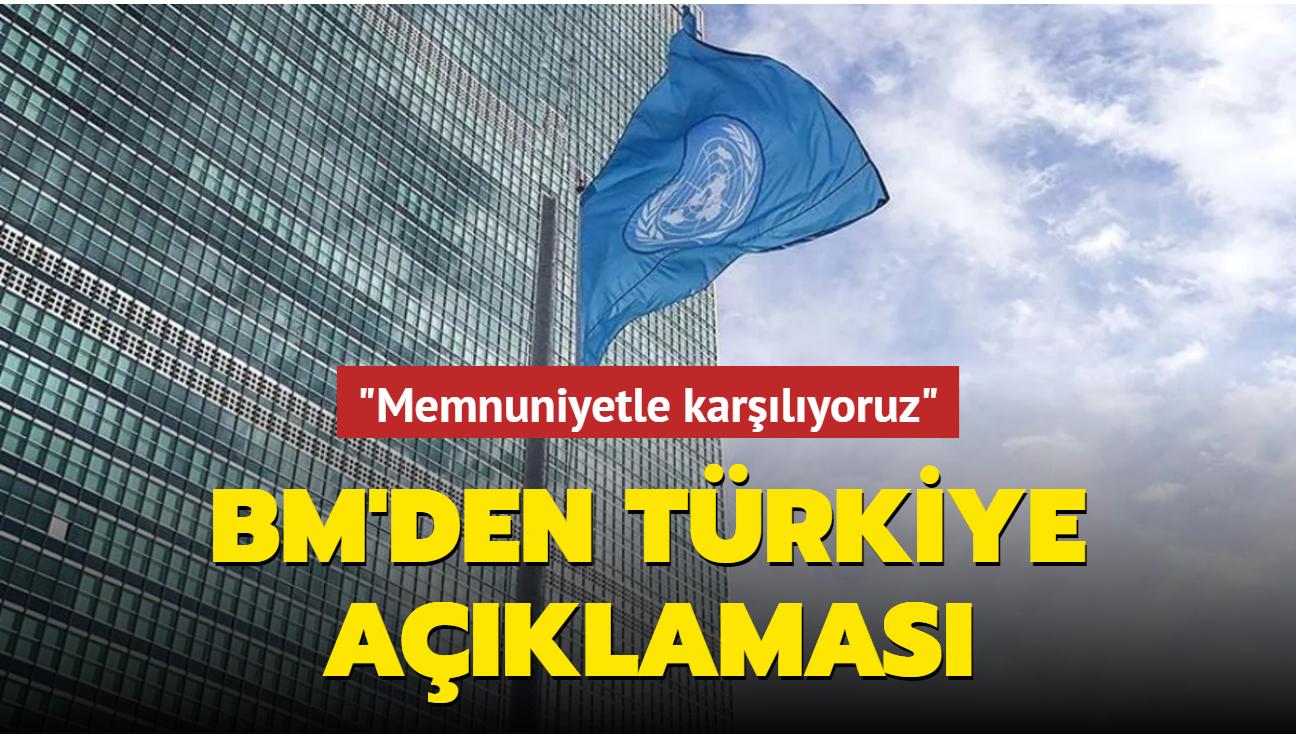 BM, Türkiye'nin Paris İklim Anlaşması'nı imzalamasını memnuniyetle karşıladı