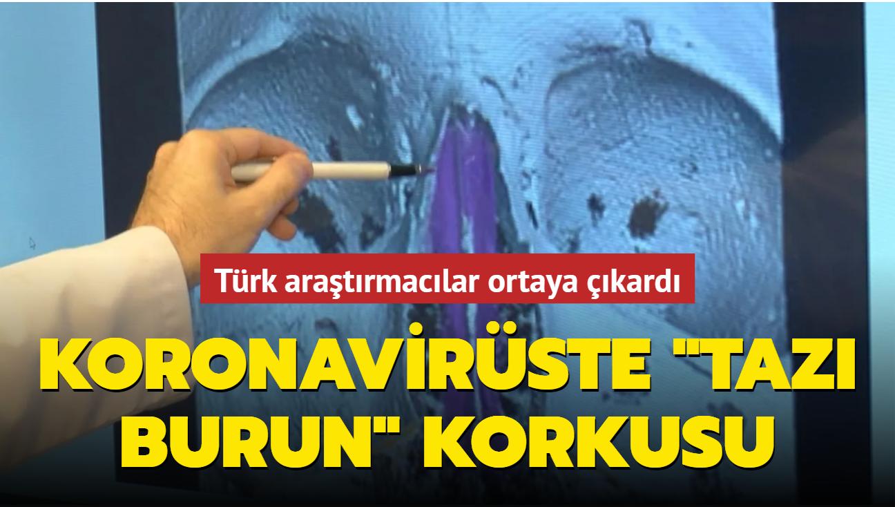 """Türk araştırmacılar ortaya çıkardı... Koronavirüste """"tazı burun"""" korkusu"""