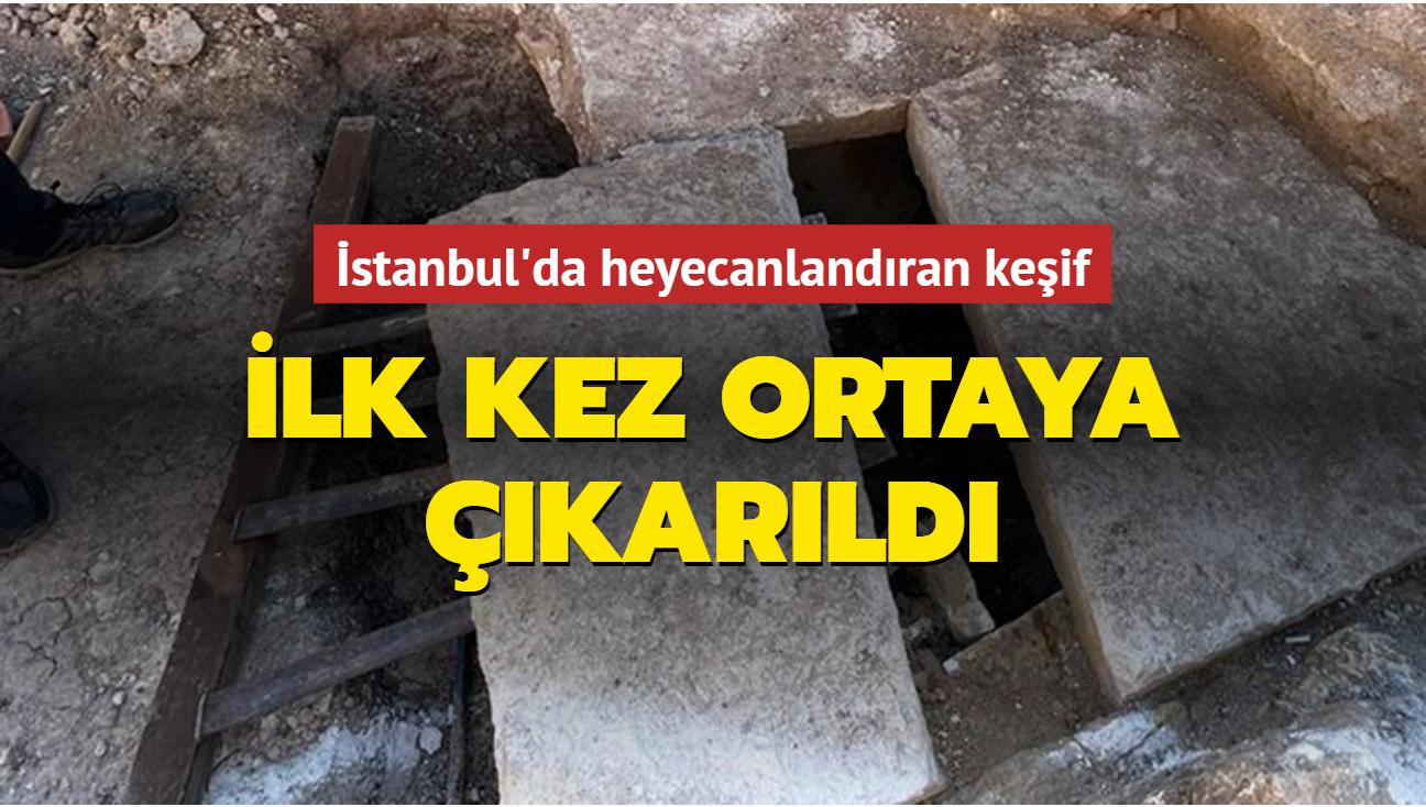 İstanbul'da heyecanlandıran keşif: İlk kez ortaya çıkarıldı