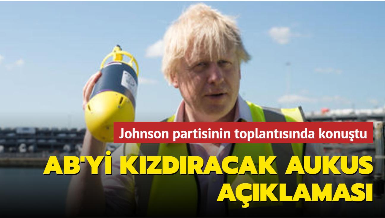 """Johnson: """"AUKUS'la AB dışında neler başarılabileceğini gösterdik"""""""