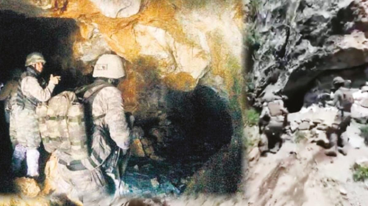 PKK o mağaraya gömüldü