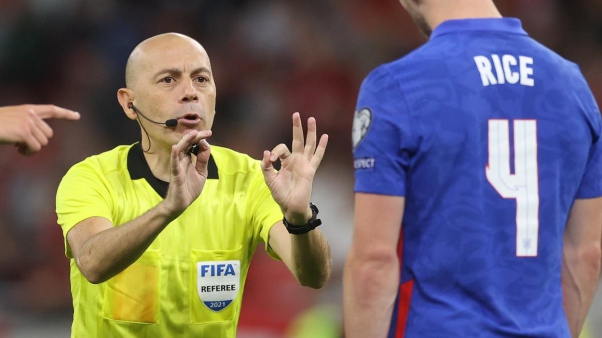 Almanya-Romanya maçında hakem Cüneyt Çakır düdük çalacak