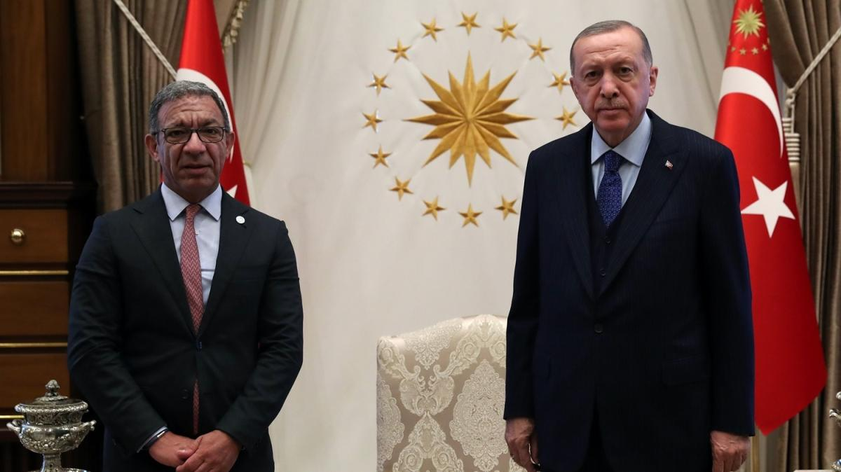 Başkan Erdoğan, Parlamentolararası Birlik Başkanı Duarte Pacheco'yu kabul etti