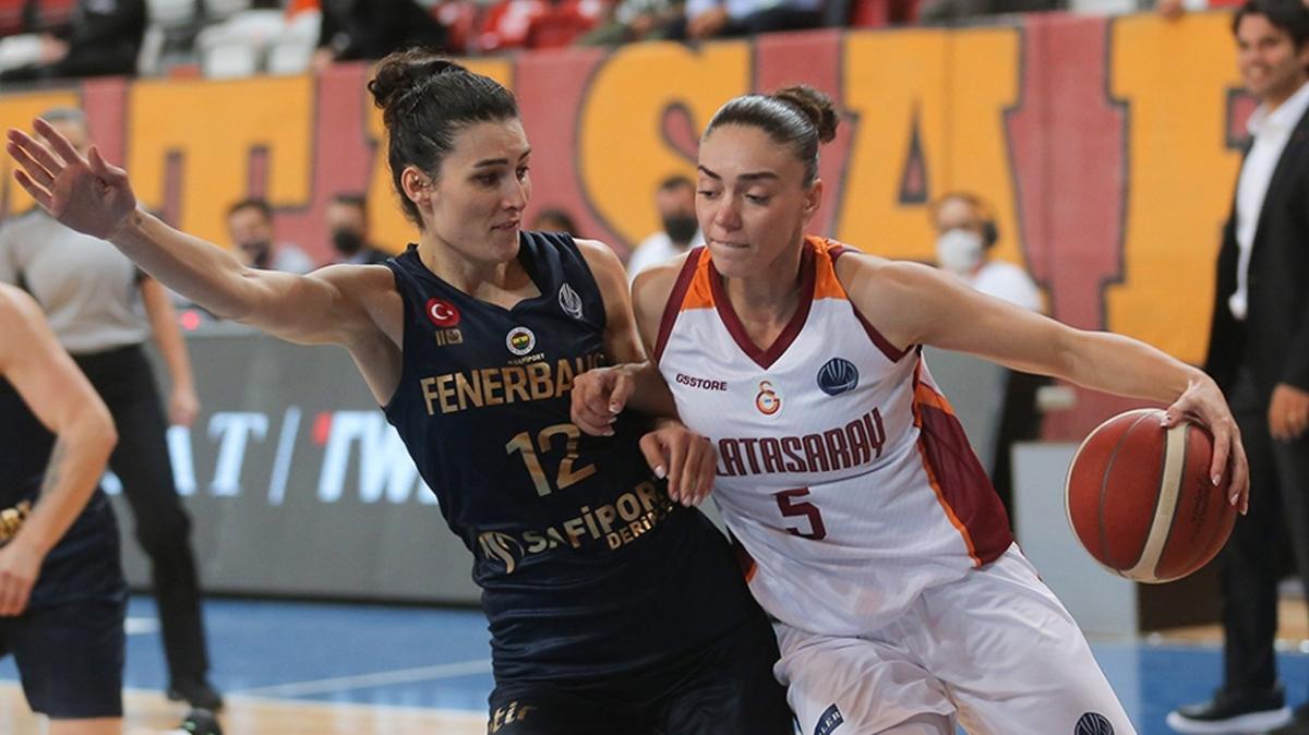 Fenerbahçe Safiport, Galatasaray'ı mağlup etti