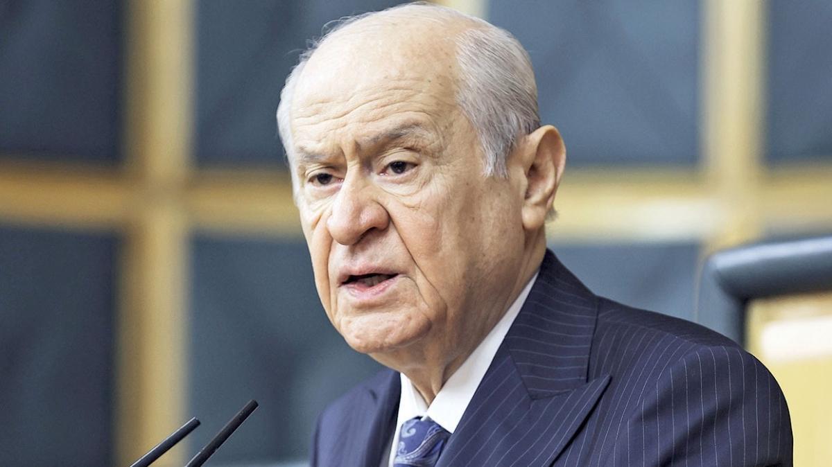 MHP Genel Başkanı Devlet Bahçeli: 'Sorun' değil emperyalist dayatma
