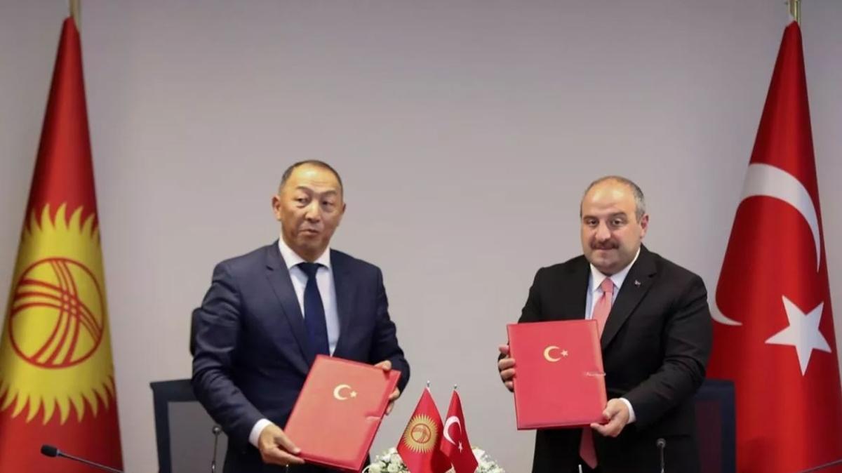 Türkiye ve Kırgızistan arasında mutabakat zaptı imzalandı