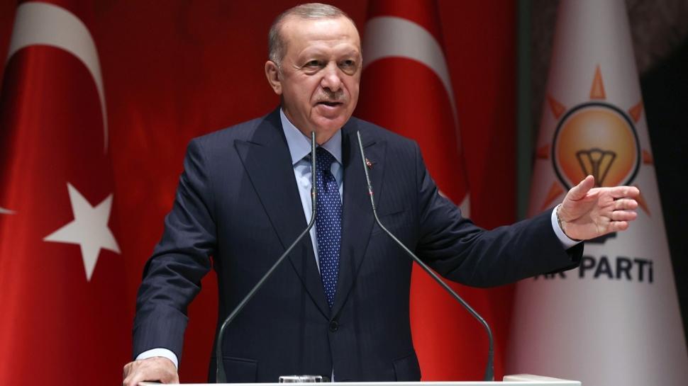 Başkan Erdoğan, partisinin Genişletilmiş İl Başkanları Toplantısı'nda konuştu