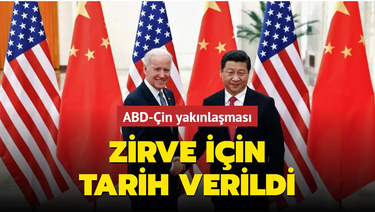 ABD ile Çin Başkanları sanal zirvede bir araya gelecek