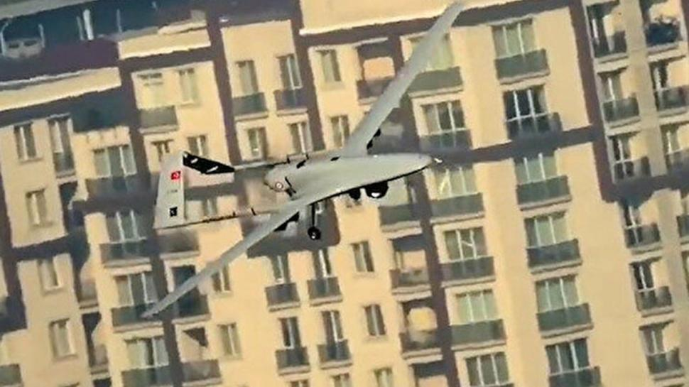 AKINCI'nın gözünden Bayraktar TB2: İstanbul kanatlarımın altında