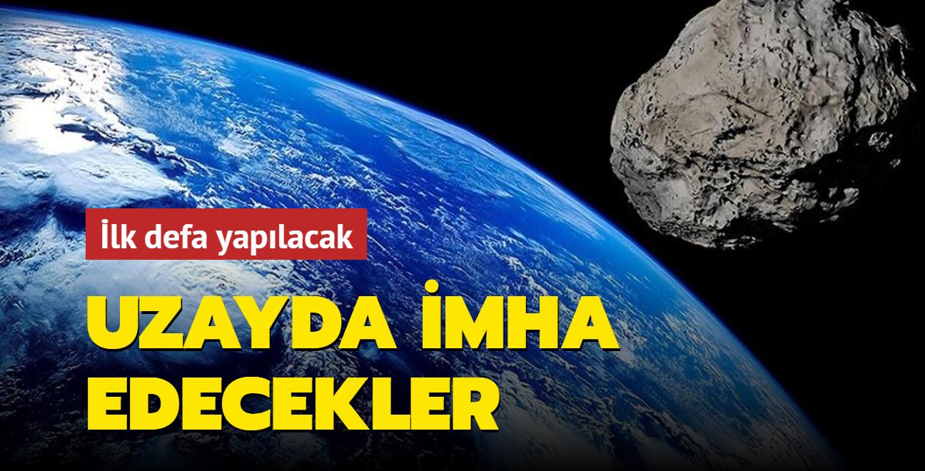 İlk defa yapılacak... Asteroidi uzayda imha edecekler