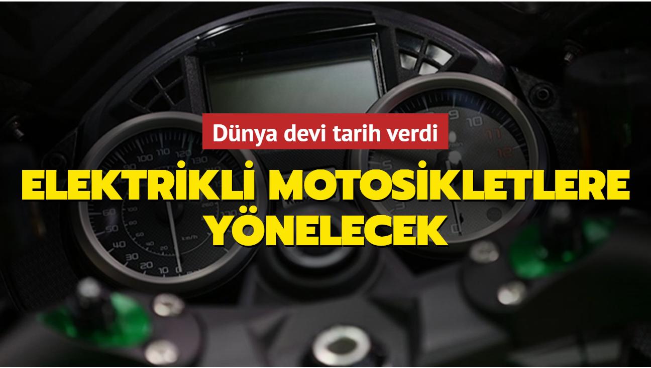 Kawasaki elektrikli motosikletlere yönelecek