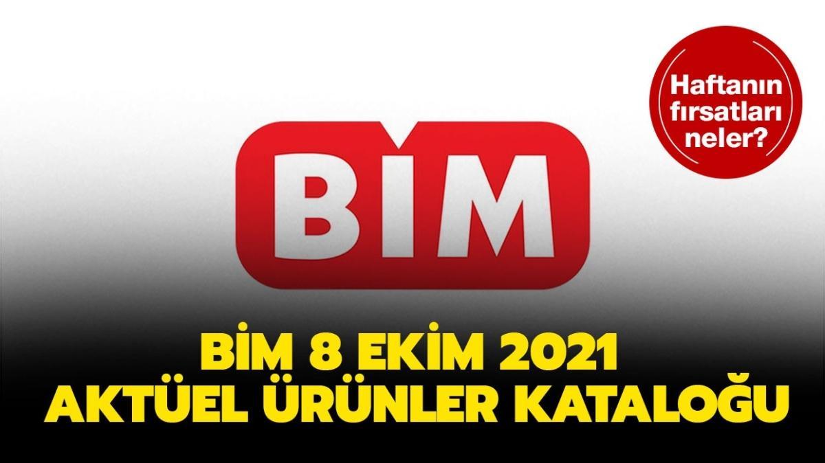 """BİM'e bugün neler gelecek"""" BİM 8 Ekim 2021 aktüel ürünler kataloğu yine dopdolu!"""