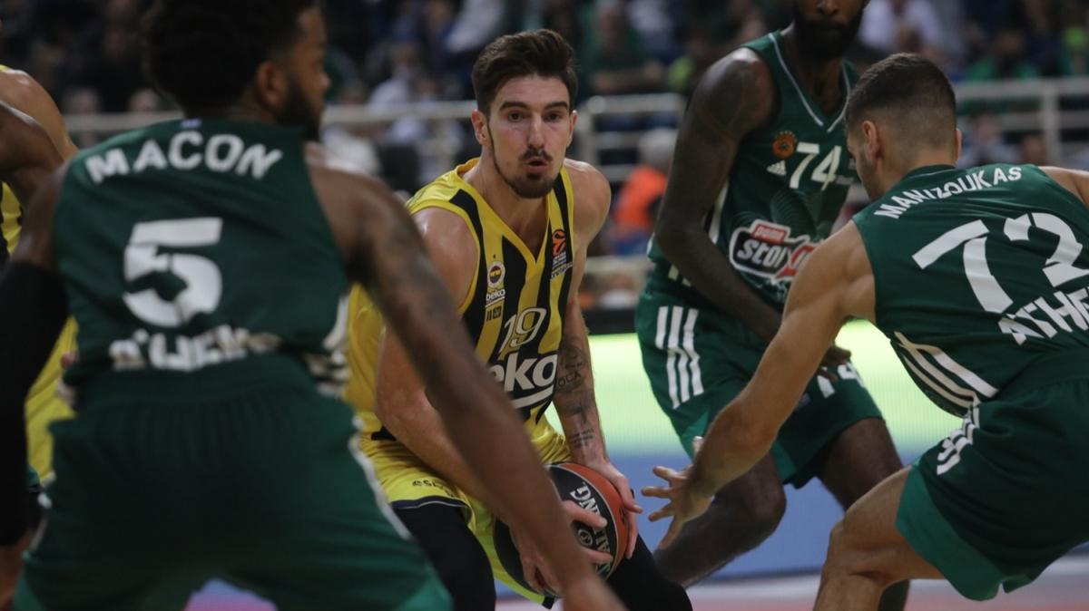 Fenerbahçe Beko, Panathinaikos'a diş geçiremedi
