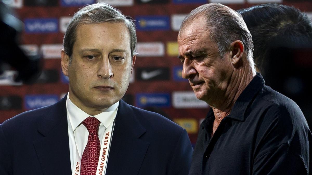 Galatasaray'da yönetim ve Fatih Terim'den sürpriz karar