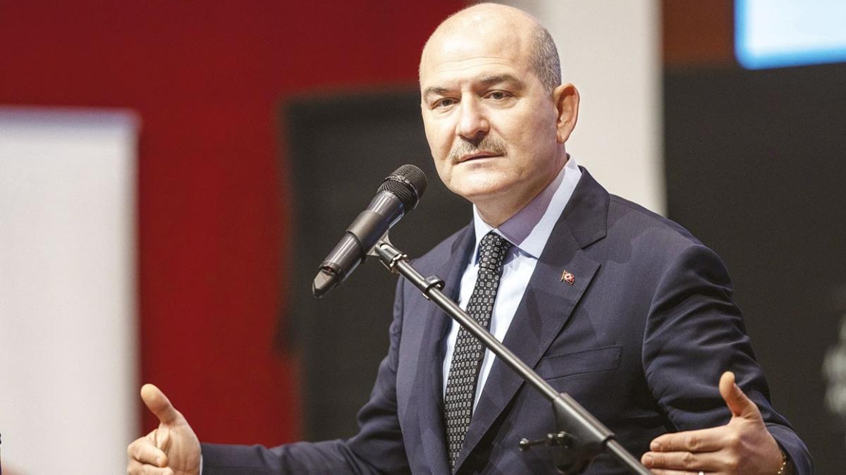 İçişleri Bakanı Süleyman Soylu: Tek operasyonluk canları kaldı