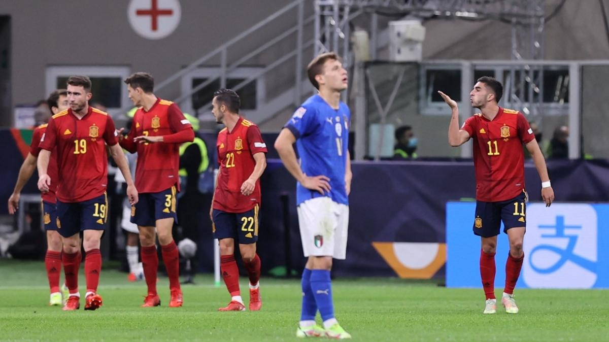 İtalya'nın 3 yıllık serisi sona erdi! İlk finalist İspanya