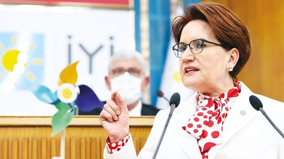 İYİ Parti Genel Başkanı Meral Akşener yine 'aday değilim' dedi